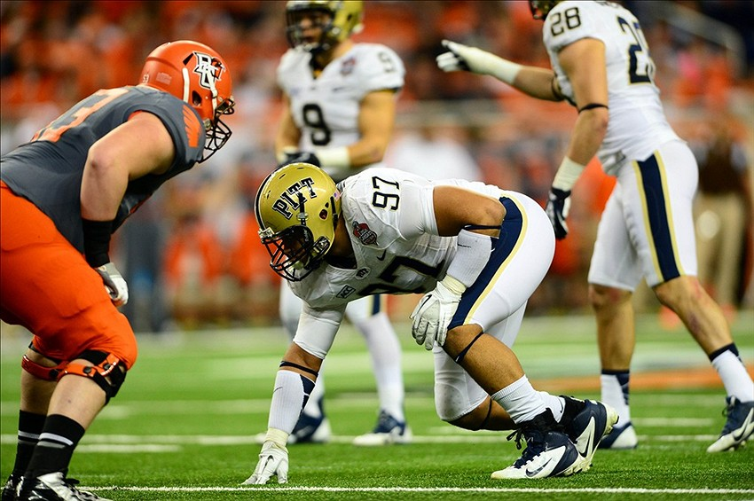 Pitt Panthers Aaron Donald Drawing Excellent Reviews At Senior Bowl Practices