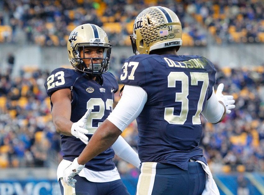 5092fce01768 Pitt Preview  Pitt prepares for No. 21 Navy in Military Bowl
